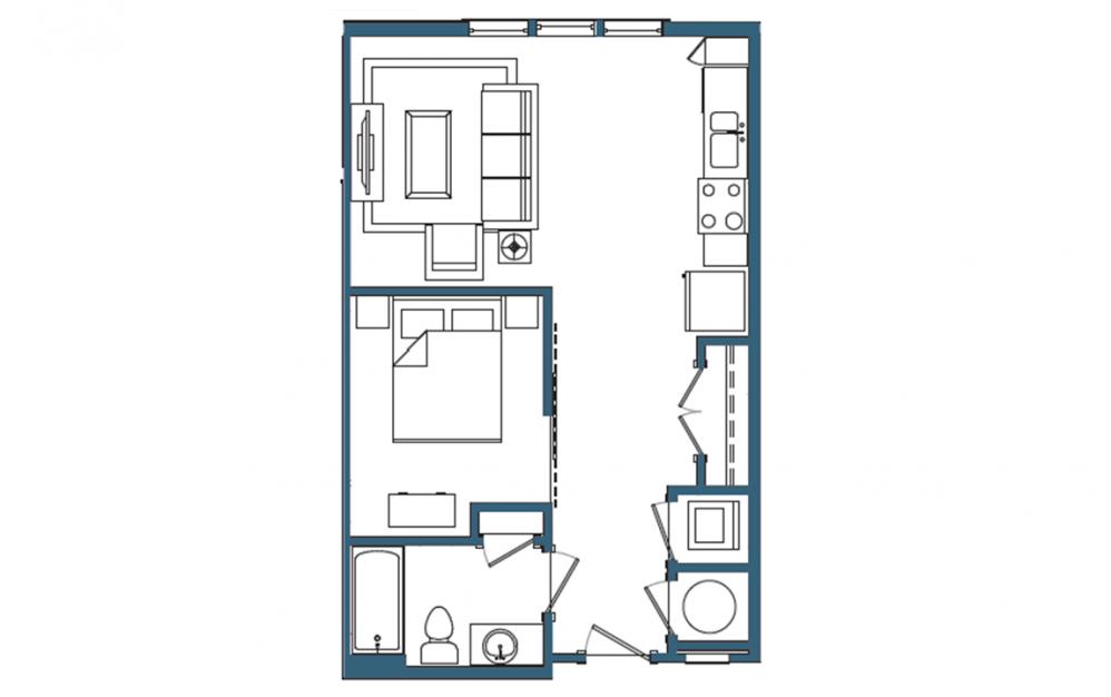 Tioga Floorplan
